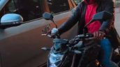 Cfmoto 650nk Spied In India Headlight