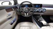 Mercedes A Class Sedan Dashboard Driver Side