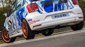 Volkswagen Polo Rx Images Rear Three Quarters