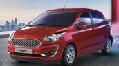 2019 Ford Figo Facelift Image Front Three Quarters