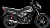 Honda Dream Yuga Cbs Black With Heavy Grey Metalli