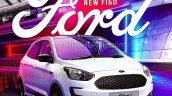 2019 Ford Figo Facelift Brochure Leaked Image