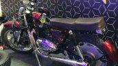 Custom Motorcycle Uses A 1967 Jawa 250 Cc Engine L