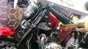 Custom Motorcycle Uses A 1967 Jawa 250 Cc Engine L