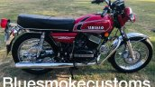 1986 Yamaha Rd350 Restored By Bluesmoke Customs Ri