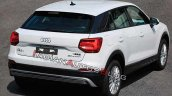 Audi Q2l E Tron White Rear Three Quarters