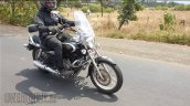 Bajaj Avenger 220 Cruise Abs Spied Right Front Qua