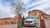 New Ford Figo Blu Review Images Exterior Front