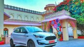 New Ford Figo Blu Review Images Exterior Front Thr