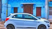 New Ford Figo Blu Review Images Exterior Side Prof