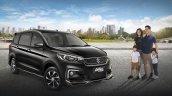 Suzuki Ertiga Suzuki Sport Front Three Quarters
