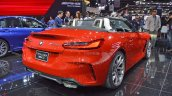 2019 Bmw Z4 Bims 2019 Images Rear Three Quarters 2