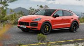 Porsche Cayenne Coupe Front Three Quarters Officia
