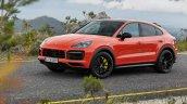 Porsche Cayenne Coupe Front Three Quarters Officia