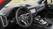 Porsche Cayenne Coupe Interior Dashboard Official
