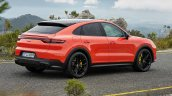 Porsche Cayenne Coupe Rear Three Quarters Official