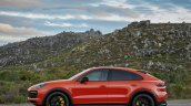 Porsche Cayenne Coupe Side Profile Official Image