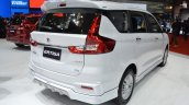 Accessorised Suzuki Ertiga Rear Three Quarters At