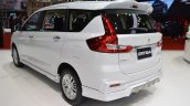 Accessorised Suzuki Ertiga Rear Three Quarters Lef
