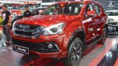 Isuzu Mu X The Onyx Front Three Quarters At Bims 2