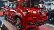 Isuzu Mu X The Onyx Rear Three Quarters Left Side