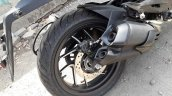 Bajaj Dominar 400 Matte Black Exhaust And Rear Dis