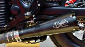 Royal Enfield Continental Gt Vayu Exhaust Left Sid