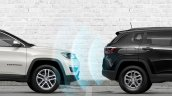 Jeep Compass Sport Plus Reverse Parking Sensors