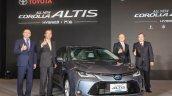 2019 Toyota Corolla Altis Hybrid Taiwan Launch