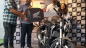 Honda Cb300r Deliveries Start Gurugram