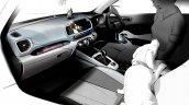 Hyundai Venue Hyundai Qxi Interior Sketch