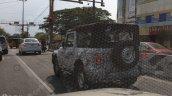 2020 Mahindra Thar Rear Three Quarters Spy Image 1