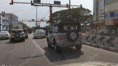 2020 Mahindra Thar Rear Three Quarters Spy Image 2