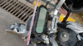 Upcoming Revolt Motorcycle Spied Instrument Consol