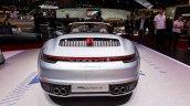 2019 Porsche 911 Carrera S Cabriolet Rear