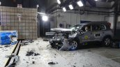 Citroen C5 Aircross Euro Ncap Frontal Offset Impac