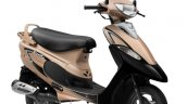 Scooty Pep Plus Gold Color