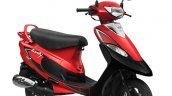 Scooty Pep Plus Red Color