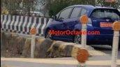 Honda Jazz Ev Honda Fit Ev Rear Three Quarters Spy