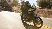 Triumph Scrambler 1200 Xc Riding Right Front Quart