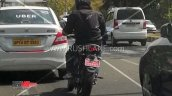 Revolt Motorcycle Spied Rear Action Shot