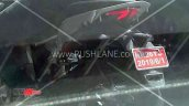 Revolt Motorcycle Spied Rear Tail Light