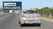 2020 Tata Tiago Facelift Rear Spy Shot