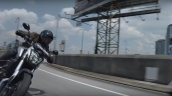 Bajaj Dominar 400 Tvc Silver Action Shot