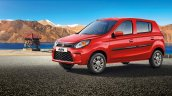 2019 Maruti Alto Facelift Front Three Quarters Ban