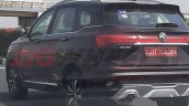 Mg Hector Maroon Rear Three Quarters Spy Shot