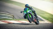 2020 Kawasaki Ninja Zx 10r Action Shots Left Front