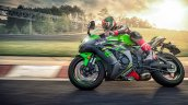 2020 Kawasaki Ninja Zx 10r Action Shots Left Side