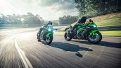 2020 Kawasaki Ninja Zx 10r Action Shots Right Fron