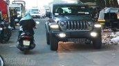 Jeep Wrangler Sahara 2 Door Spy Image Front